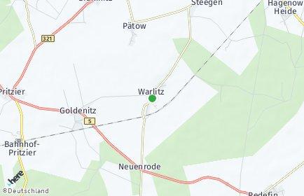 Stadtplan Warlitz