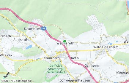 Stadtplan Warmsroth