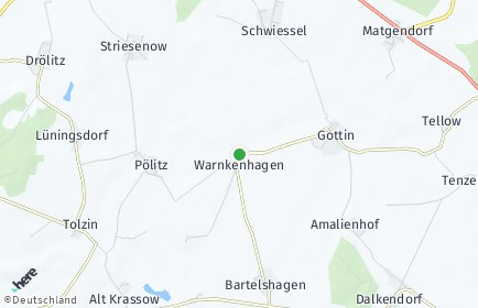 Stadtplan Warnkenhagen