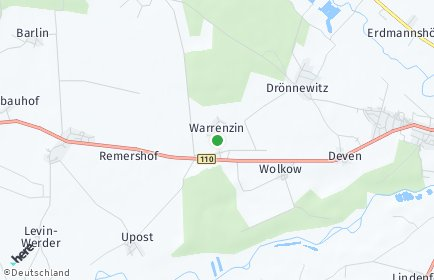 Stadtplan Warrenzin