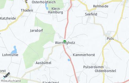 Stadtplan Warringholz