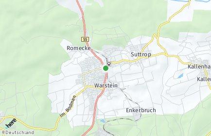 Stadtplan Warstein