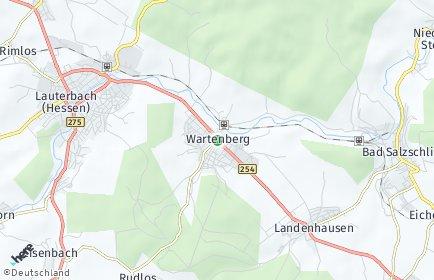 Stadtplan Wartenberg (Hessen)