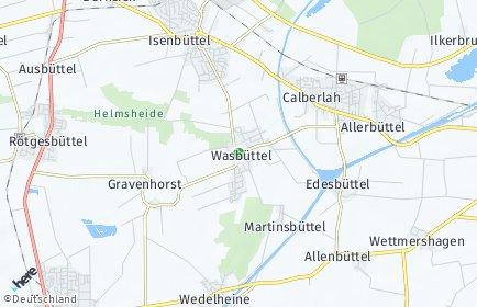Stadtplan Wasbüttel