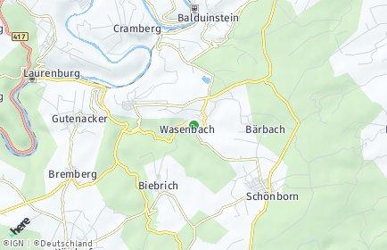 Stadtplan Wasenbach
