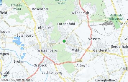Stadtplan Wassenberg