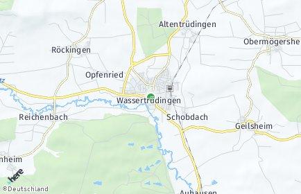Stadtplan Wassertrüdingen