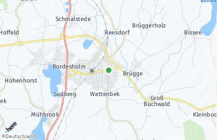 Stadtplan Wattenbek