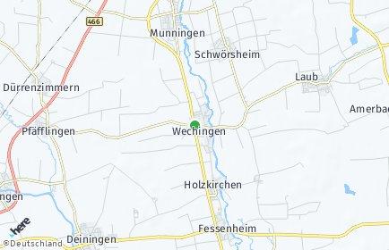 Stadtplan Wechingen