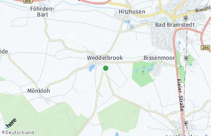 Stadtplan Weddelbrook