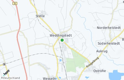 Stadtplan Weddingstedt
