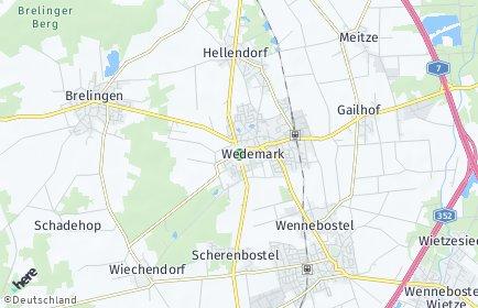 Stadtplan Wedemark