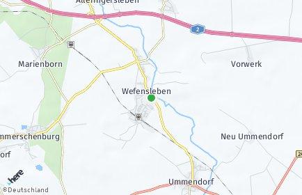 Stadtplan Wefensleben