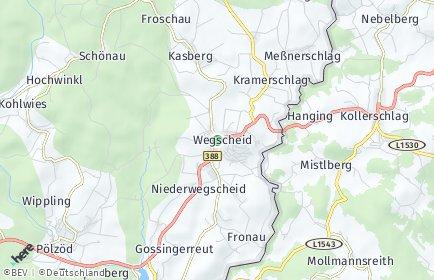 Stadtplan Wegscheid