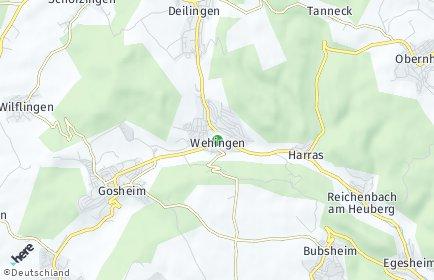 Stadtplan Wehingen