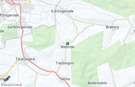 Stadtplan Wehnde