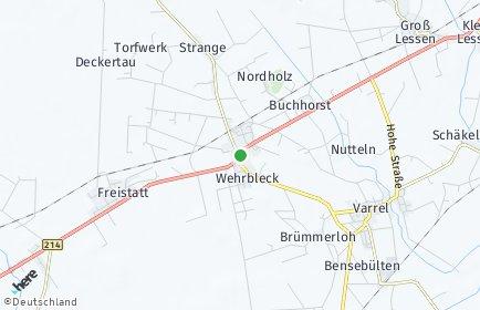 Stadtplan Wehrbleck