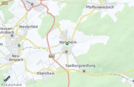 Stadtplan Wehrheim