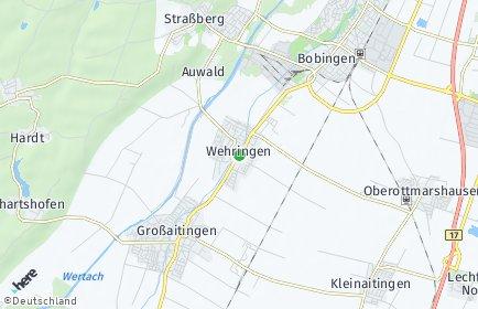 Stadtplan Wehringen