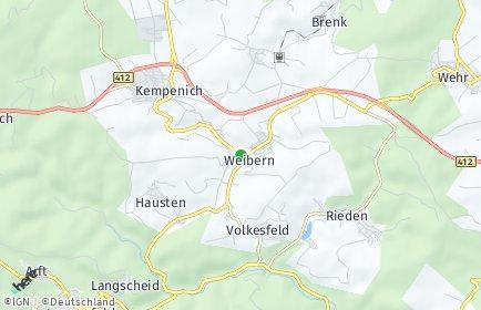 Stadtplan Weibern