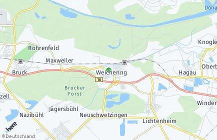 Stadtplan Weichering