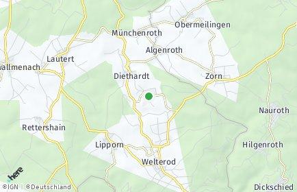 Stadtplan Weidenbach (Taunus)