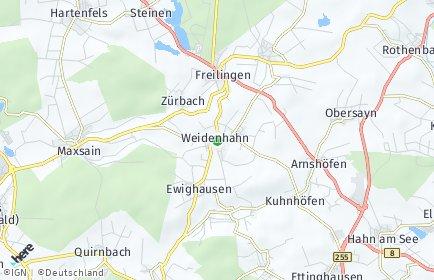 Stadtplan Weidenhahn