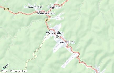 Stadtplan Weidenthal