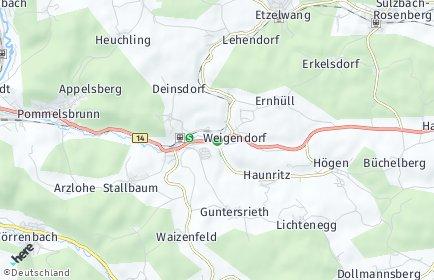 Stadtplan Weigendorf