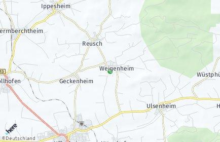 Stadtplan Weigenheim
