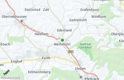 Stadtplan Weihmichl