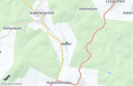 Stadtplan Weilar
