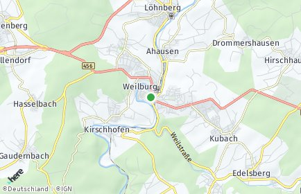 Stadtplan Weilburg