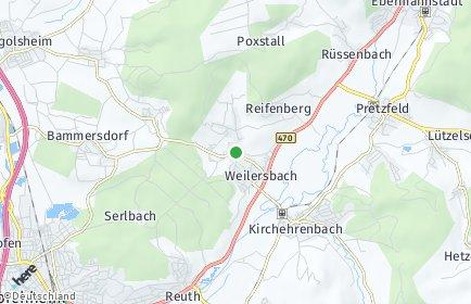 Stadtplan Weilersbach