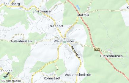 Stadtplan Weilmünster