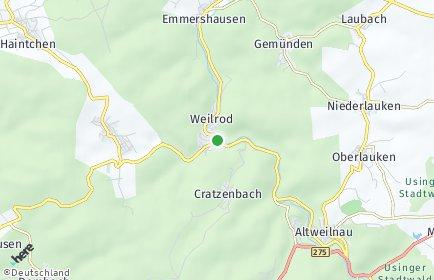 Stadtplan Weilrod