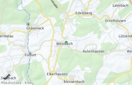 Stadtplan Weinbach