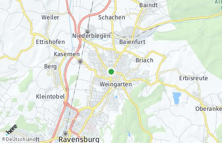 Stadtplan Weingarten (Württemberg)