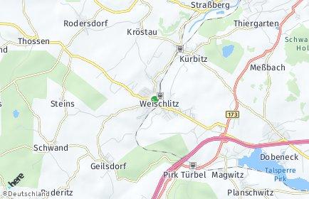 Stadtplan Weischlitz