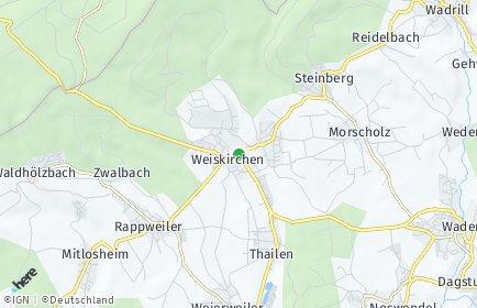 Stadtplan Weiskirchen