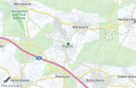 Stadtplan Weissach