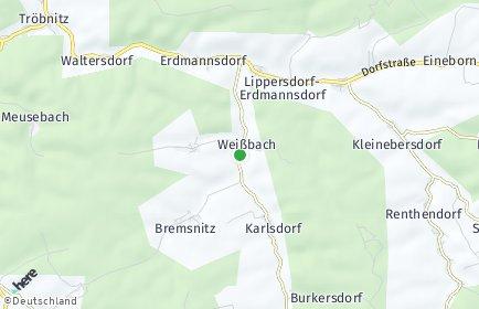 Stadtplan Weißbach (Thüringen)