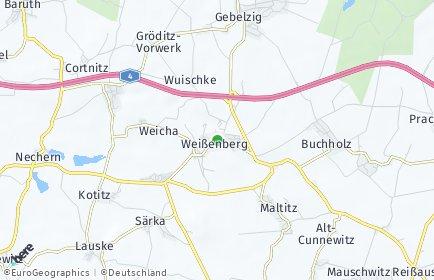 Stadtplan Weißenberg