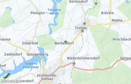 Stadtplan Weißendorf
