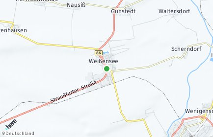Stadtplan Weißensee