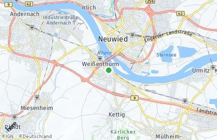 Stadtplan Weißenthurm