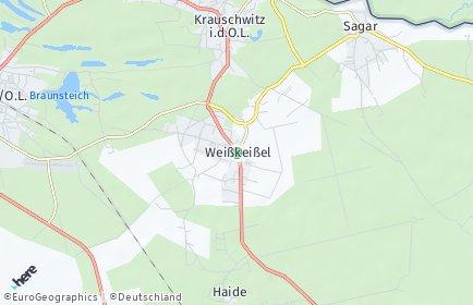 Stadtplan Weißkeißel