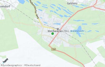 Stadtplan Weißwasser/Oberlausitz