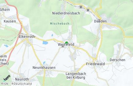 Stadtplan Weitefeld
