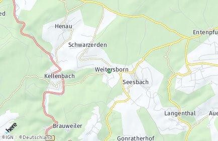 Stadtplan Weitersborn
